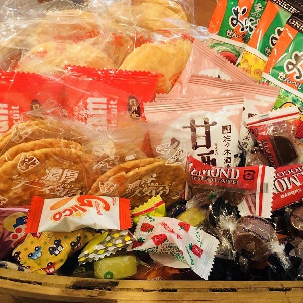 お菓子サービス