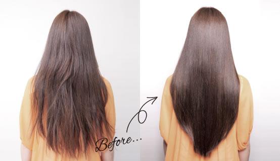 美髪エステで頭皮と髪を根本から修復