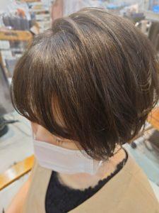 白髪染めプラスカラー