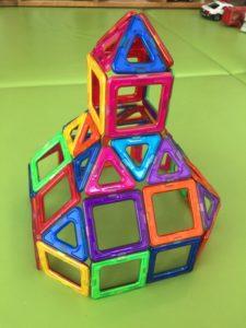 磁石のおもちゃ お城