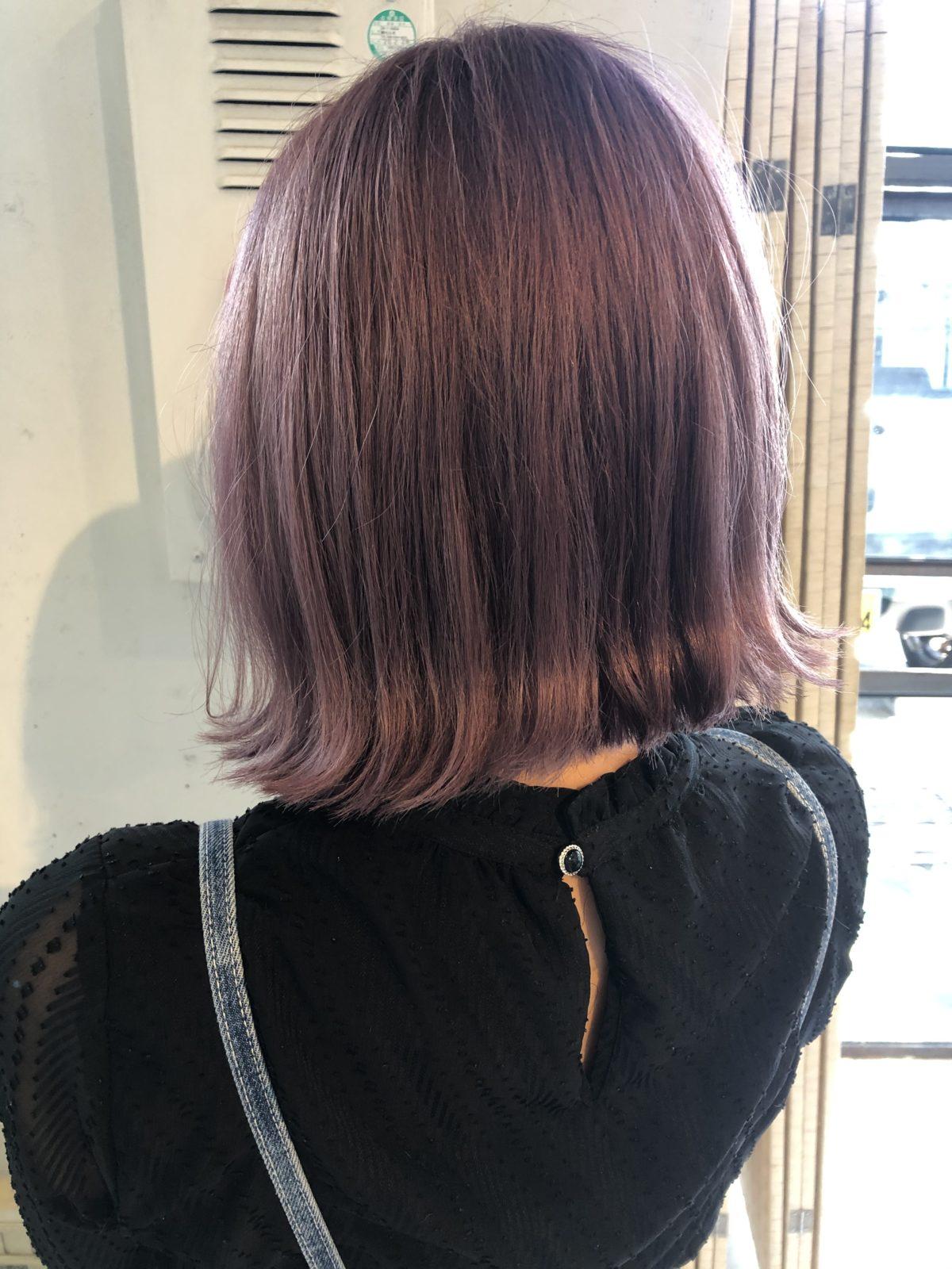 今が旬のpinkカラーヘア
