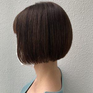 ボブスタイル 前髪ありバージョン