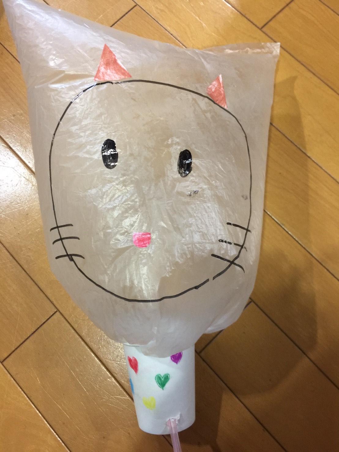 紙コップで作る動物のおもちゃ