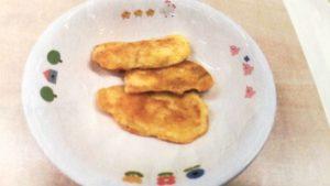 刺身を使った白身魚のピカタ