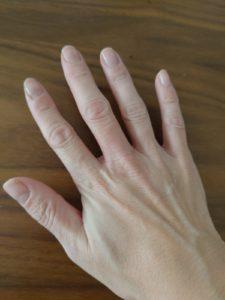 EORA(エオラ)ハンドパック 使用後の手