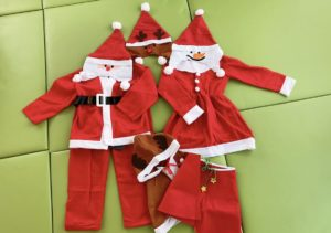 !reny kidsクリスマスイベント用衣装
